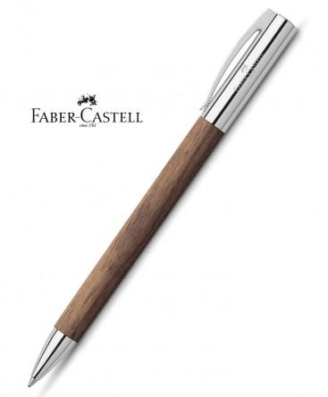 Stylo-Bille-Faber-Castell-Ambition-Bois-de-Noyer-réf_148531