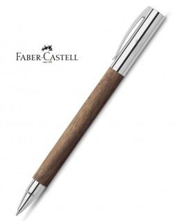 Stylo Roller Faber-Castell Ambition Bois de Noyer