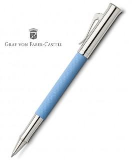 Stylo Roller Graf von Faber-Castell Guilloché Bleu Azur