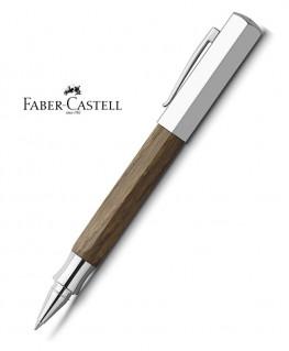 stylo-roller-faber-castell-ondoro-chene-fume-147518