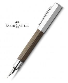 stylo-plume-faber-castell-ondoro-chene-fume-147580