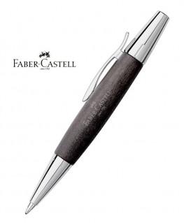 Stylo Bille Faber Castell E-Motion Bois de Poirier Nuit