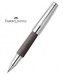 Stylo Roller Faber Castell E-Motion Bois de Poirier Nuit