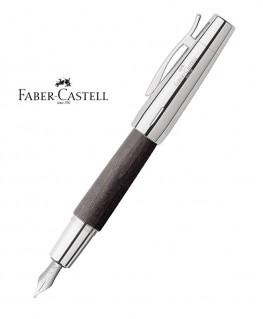 Stylo Plume Faber-Castell E-Motion Bois de Poirier Nuit