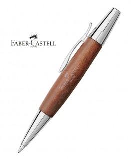 Stylo Bille Faber Castell E-Motion bois de Poirier Automne