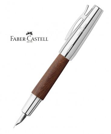 stylo-plume-faber-castell-e-motion-bois-de-poirier-automne-148200