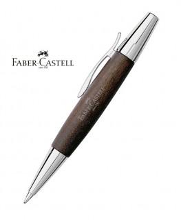 Stylo Bille Faber Castell E-Motion Bois de Poirier Moka