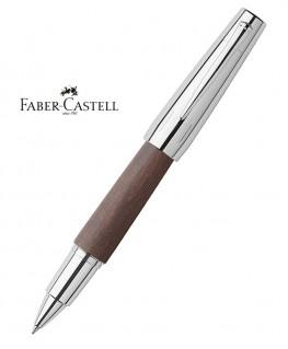Stylo Roller Faber Castell E-Motion Bois de Poirier Moka