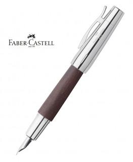 Stylo Plume Faber Castell E-Motion Bois de Poirier Moka