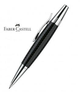 Stylo Porte-mine Faber Castell E-Motion Parquet Noir