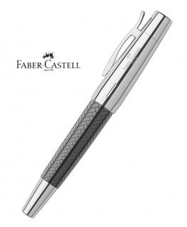 Stylo Roller Faber Castell E-Motion Parquet Noir
