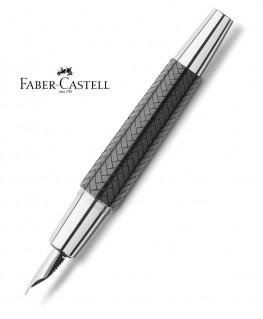 Stylo Plume Faber Castell E-Motion Parquet Noir