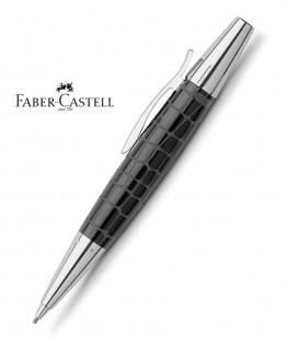 Stylo Porte-mine Faber Castell E-Motion Croco Noir