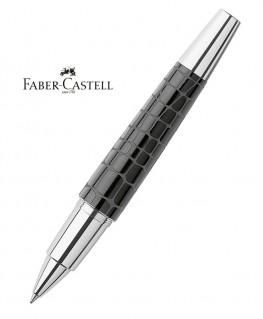 Stylo Roller Faber Castell E-Motion Croco Noir