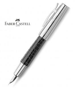 Stylo Plume Faber Castell E-Motion Croco Noir