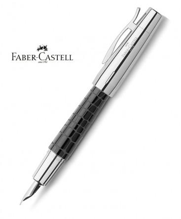 stylo-plume-faber-castell-e-motion-resine-croco-noir-148230