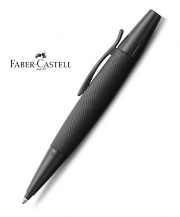 stylo-bille-faber-castell-e-motion-aluminium-pure-black-148690