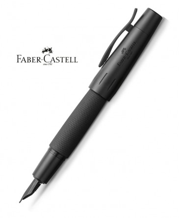 stylo-plume-faber-castell-e-motion-aluminium-pure-black-148620