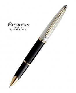 stylo-roller-waterman-carene-deluxe-laque-noire-gt-s0699980