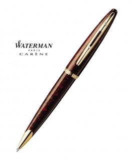 stylo-bille-waterman-carene-ambre-marine-gt-s0700940-3501170700945