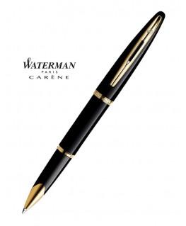 Stylo Roller Waterman Carène Laque Noire GT