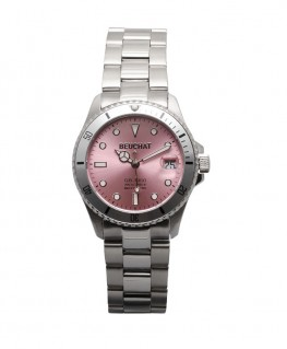 Montre Beuchat GB1950 34mm Cadran Rose BEU1955-4