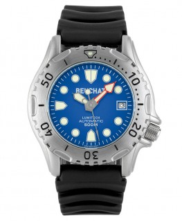Montre Beuchat Lumitech Automatique Cadran Bleu BEU0504/2