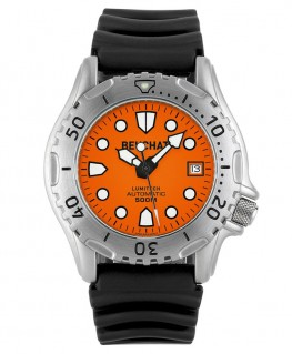 Montre Beuchat Lumitech Automatique Cadran Orange BEU0504/3