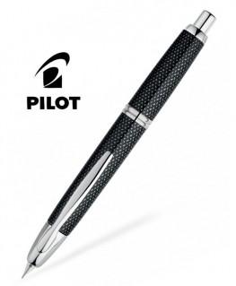 Stylo Plume Pilot Capless Graphite Noir Attributs Rhodiés