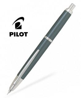 Stylo Plume Pilot Capless Décimo Gris Attributs Rhodiés