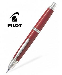 Stylo Plume Pilot Capless Rouge Attributs Rhodiés