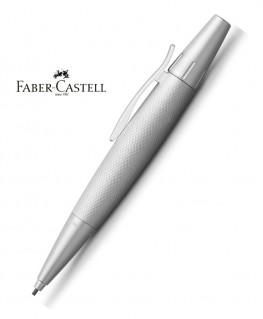 Stylo Porte-mine Faber Castell E-Motion Pure Silver