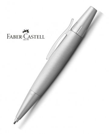 stylo-porte-mine-faber-castell-e-motion-aluminium-pure-silver-ref_138676