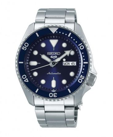 montre-homme-seiko5-automatique-3 aiguilles-ref_SRPD51K1