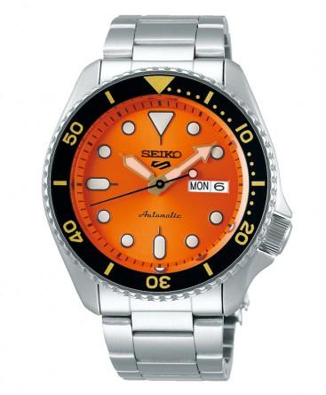 montre-homme-seiko5-automatique-3 aiguilles-ref_SRPD59K1