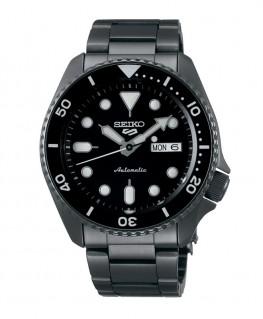 montre-homme-seiko5-automatique-3 aiguilles-ref_SRPD65K1
