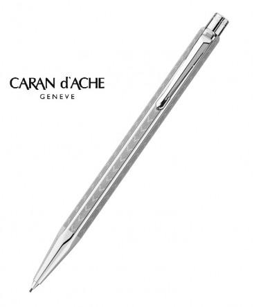 stylo-porte-mine-caran-d'ache-ecridor-chevron-palladie-ref_4.286