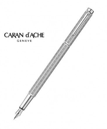 stylo-plume-caran-d'ache-ecridor-chevron-palladie-ref_958.286
