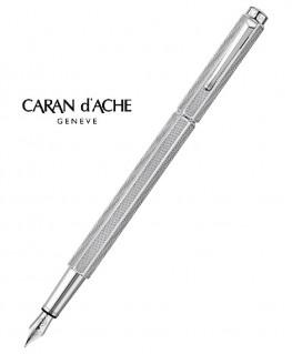 stylo-plume-caran-d'ache-ecridor-maille-milanaise-palladie-ref_958.345