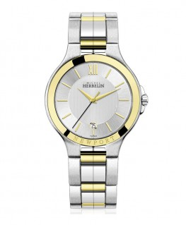 Montre Michel Herbelin Newport Royale Bicolore 12298/BT11 -50%