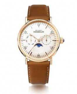 Montre Michel Herbelin Inspiration 1947 Phase de Lune 12747/PR11GO
