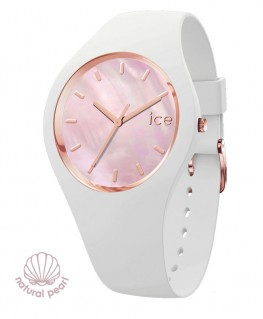 Montre ICE Watch ICE Pearl White Pink Medium -40%