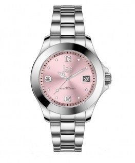 Montre ICE Watch Ice Steel Light Pink With Stones Small
