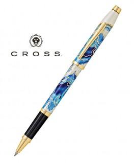 Stylo Roller Cross Wanderlust Bleu Malte